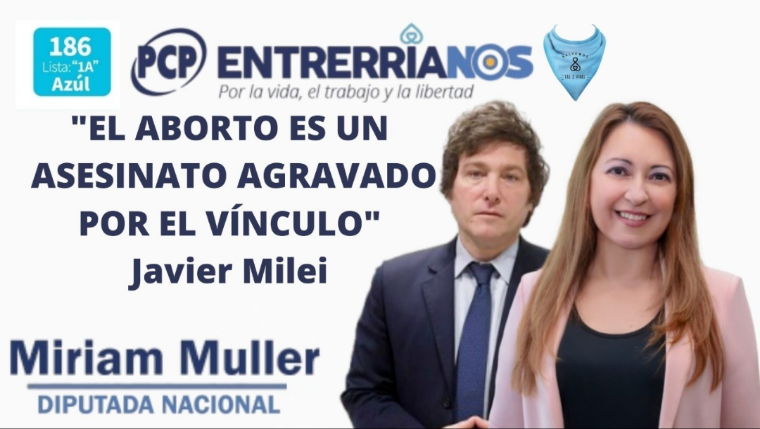 Javier Milei obtuvo el 13,66% de votos y se ubicó como tercera fuerza en la  Ciudad - Entre Rios 24